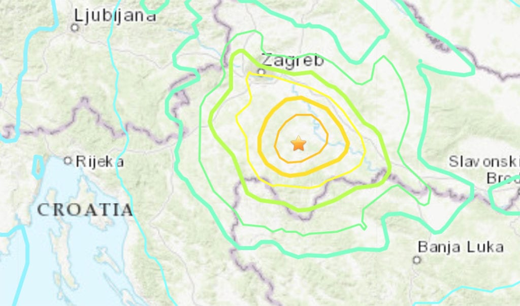 Magnitude 6 3 Earthquake Hits Croatia 1 Death Reported Casper Wy Oil City News