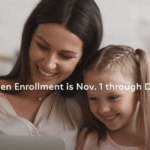 Open Enrollment is Nov. 1 through Dec. 15